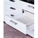 Szuflada ModernBox biała , dożywotnia gwarancja